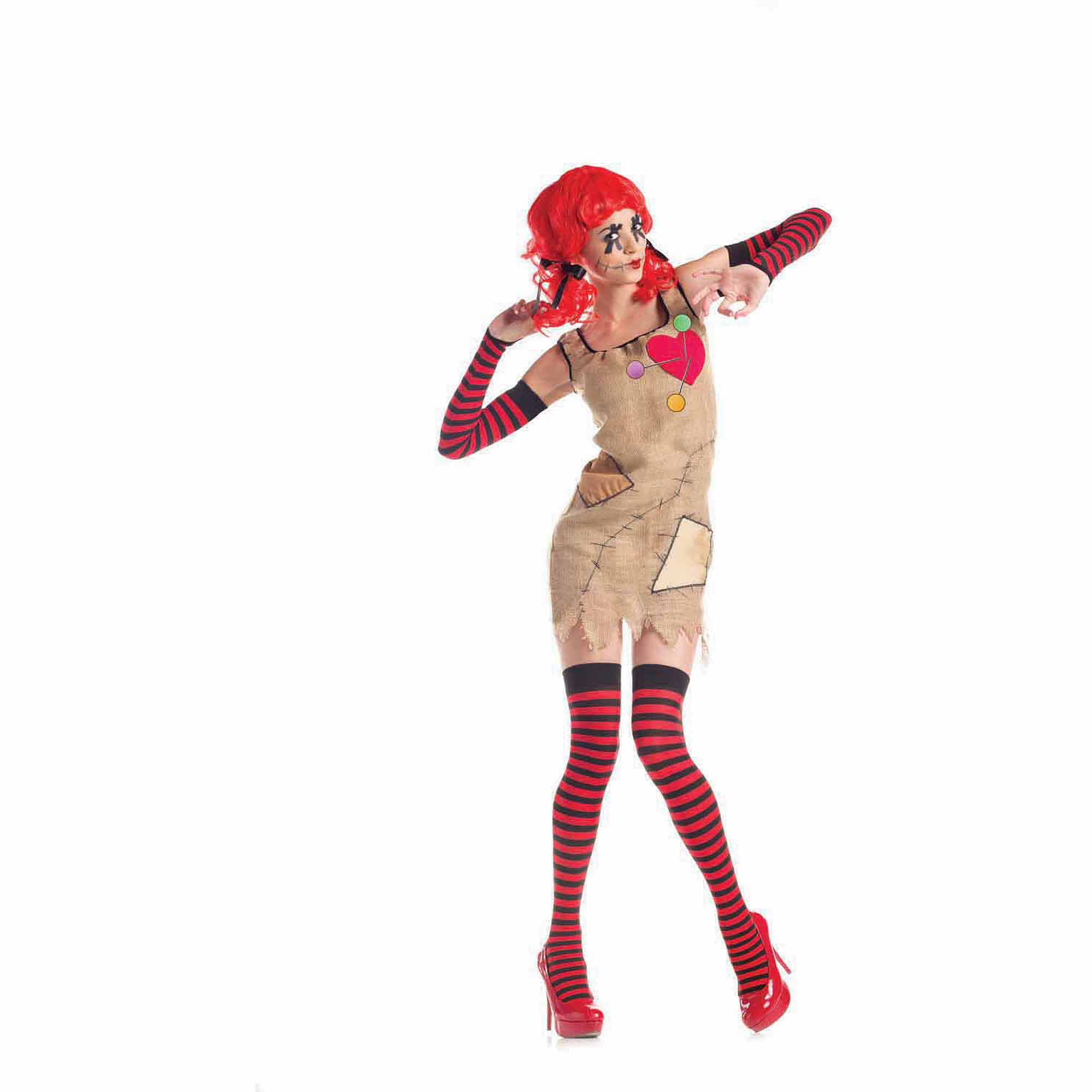 voodoo doll adult halloween costume walmartcom