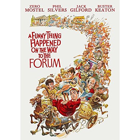 A Funny Thing Happened On The Way To The Forum (DVD) - Funny Things To Say On Halloween