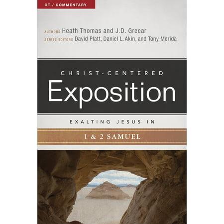- Exalting Jesus in 1 & 2 Samuel