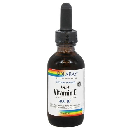 Solaray Vitamin E 400 IU Liquid, 2 Fl Oz