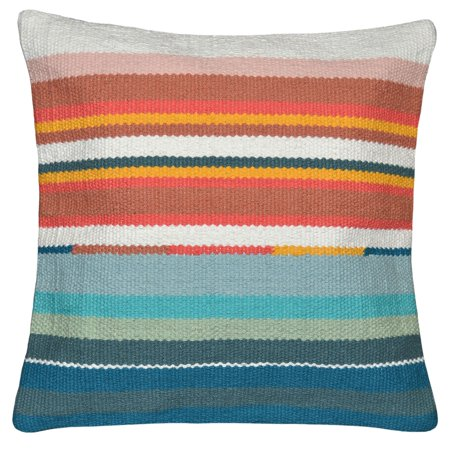 Better Homes and Gardens Pop Stripe Decorative Throw Pillow, 17