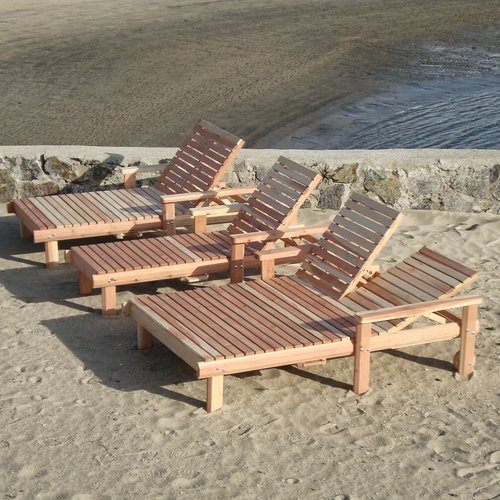 Best Redwood Beach Chaise Lounge