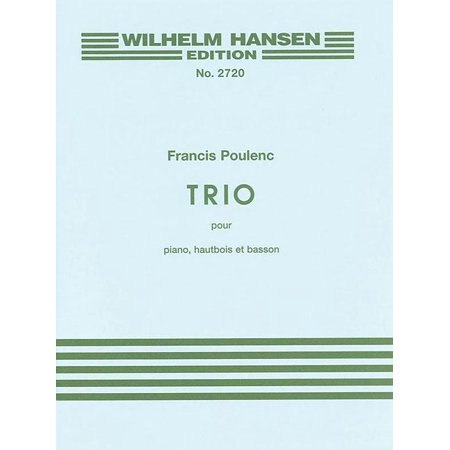 Trio for Piano, Oboe and Bassoon (Paperback)