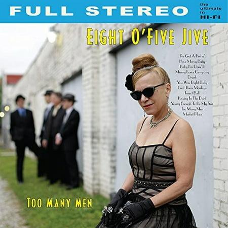 Eight Ofive Jive   Too Many Men  Cd