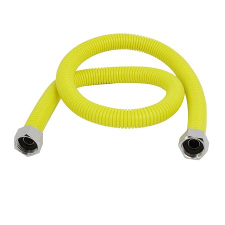 - 304 Stainless Steel 0.8M Length Flexible Gas Range Connector Pipe Supply Hose