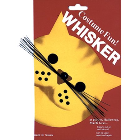Morris Costumes Cat Whiskers White Halloween Accessory](Cat Whiskers Costume)
