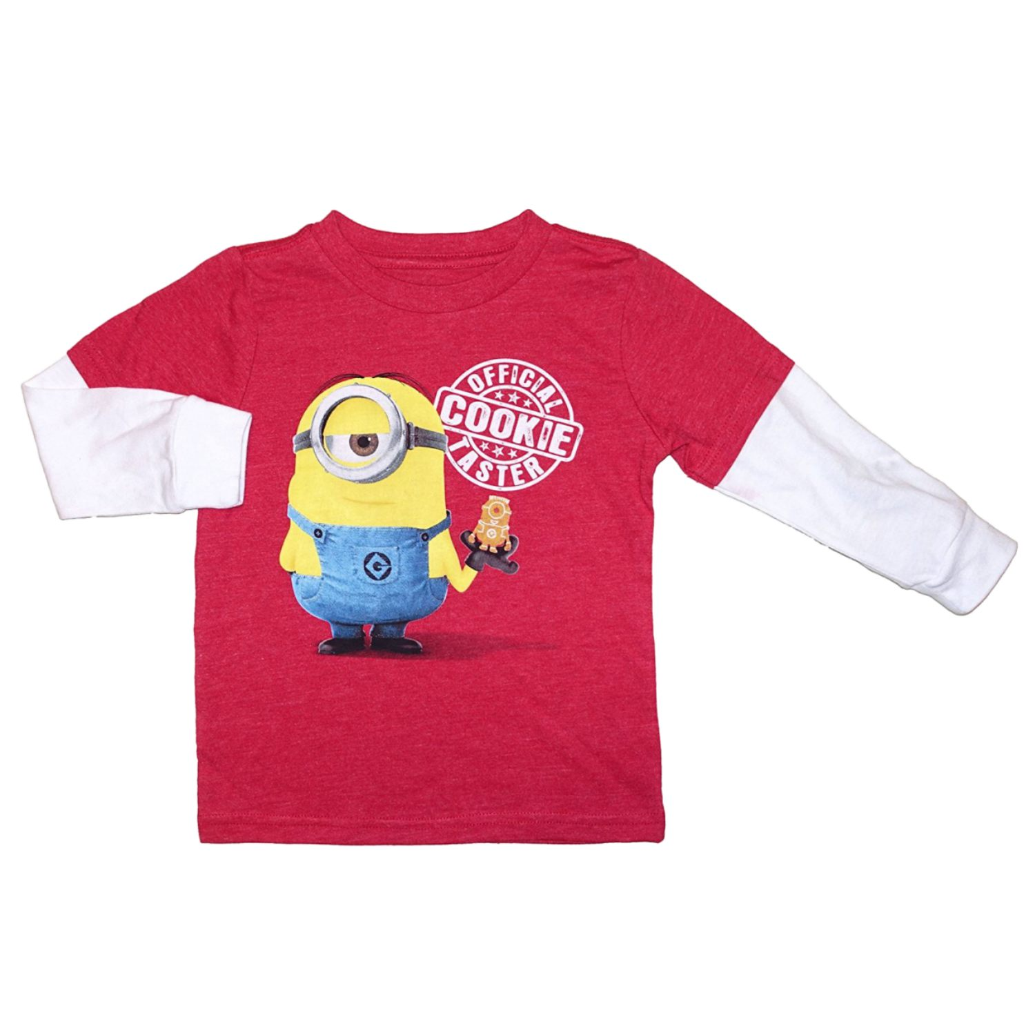 Despicable Me Infant Toddler Boys Official Cookie Taster Long Sleeve T-Shirt