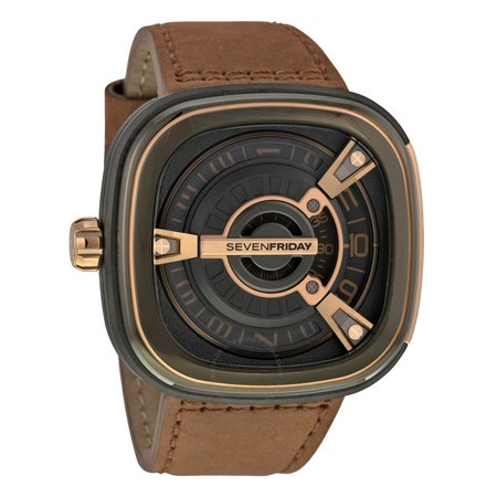 Seven Friday M2-2 Series Automatic Black Dial Men's Watch