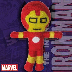 Cell Phone Charm   Marvel   Iron Man New Gifts Toys String Doll Vd Mvl 0001