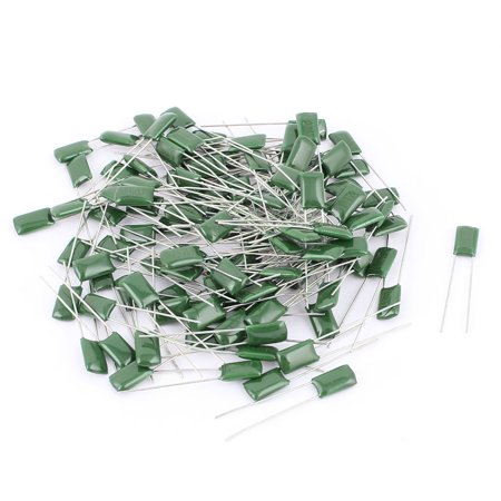 100V 2A 10nF 5% Tolerance Radial  Polyester Film Capacitors 100Pcs (100v Polyester Film Capacitor)