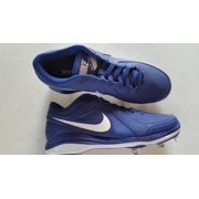 New Nike Air MVP Pro Metal 524641 Mens 10.5 BB Metal Cleats Royal/Wht