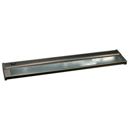bronze 24 inch three light xenon under cabinet light. Black Bedroom Furniture Sets. Home Design Ideas