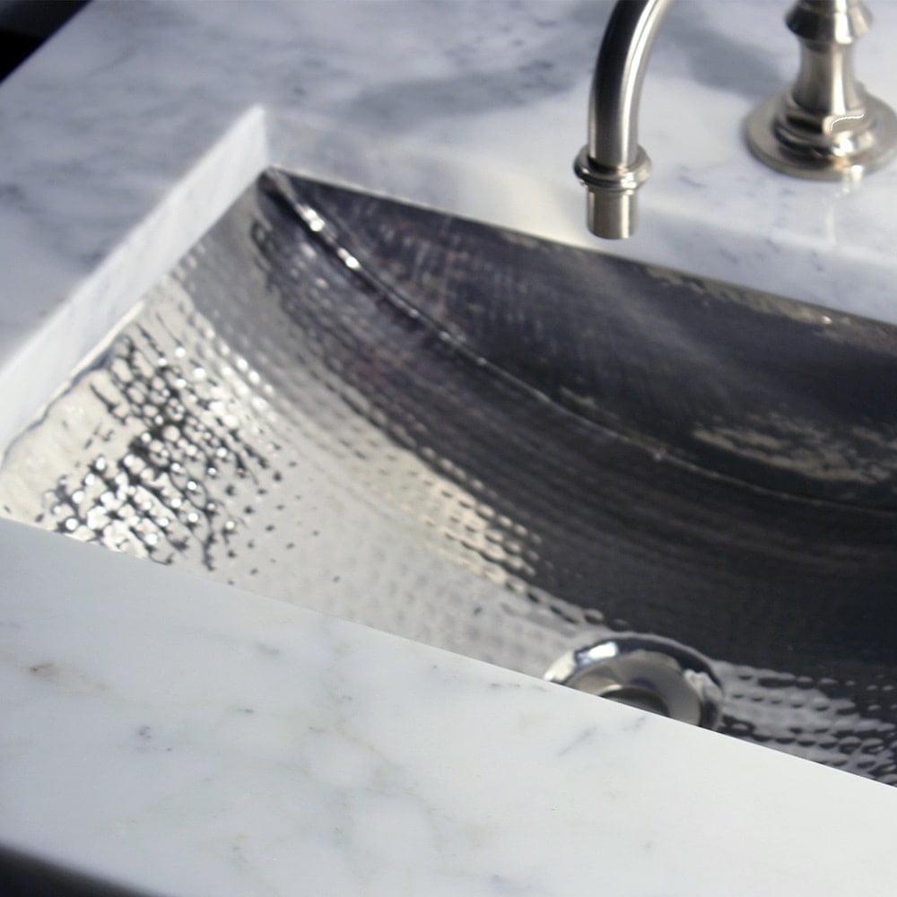 Highpoint Collection 24-inch Artisan Hammered Nickel Unde...