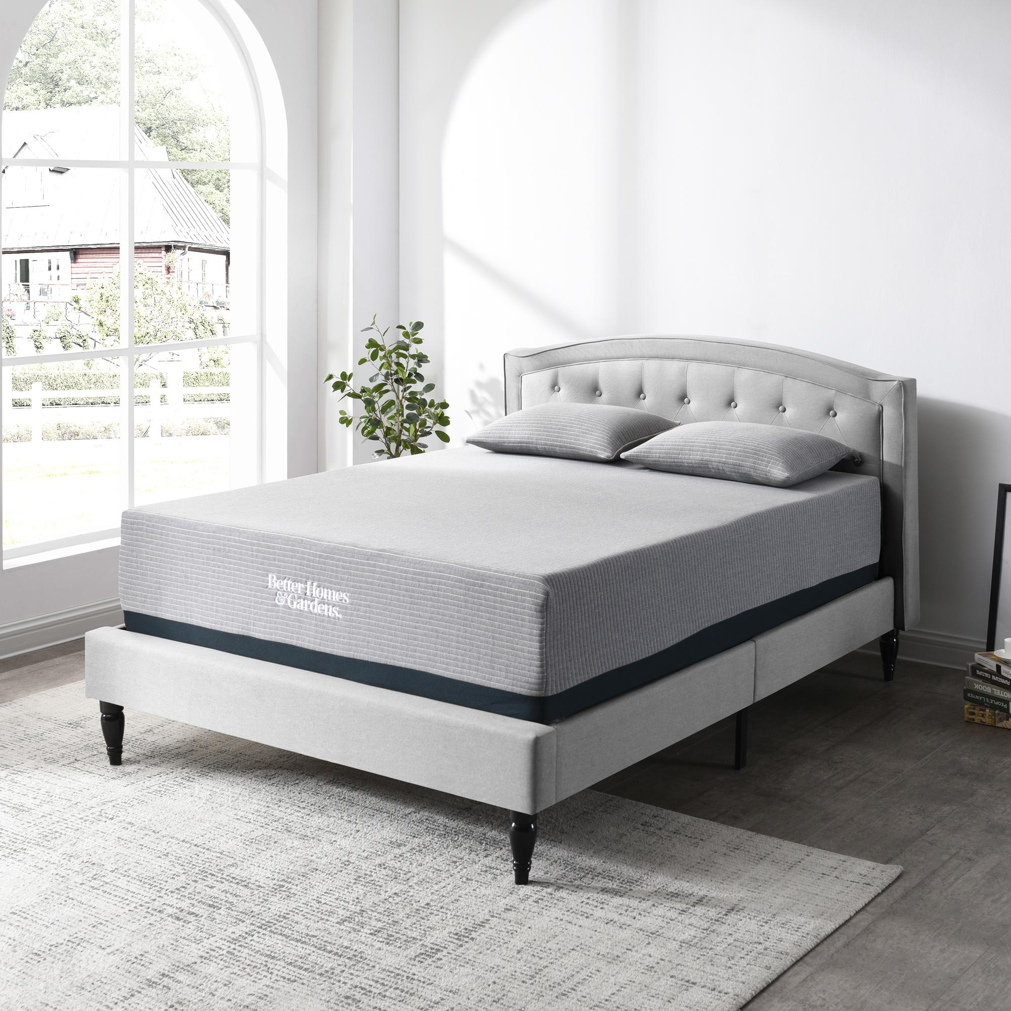 Better Homes & Gardens 14-Inch Gel Memory Foam Mattress with BONUS 2 Pillows