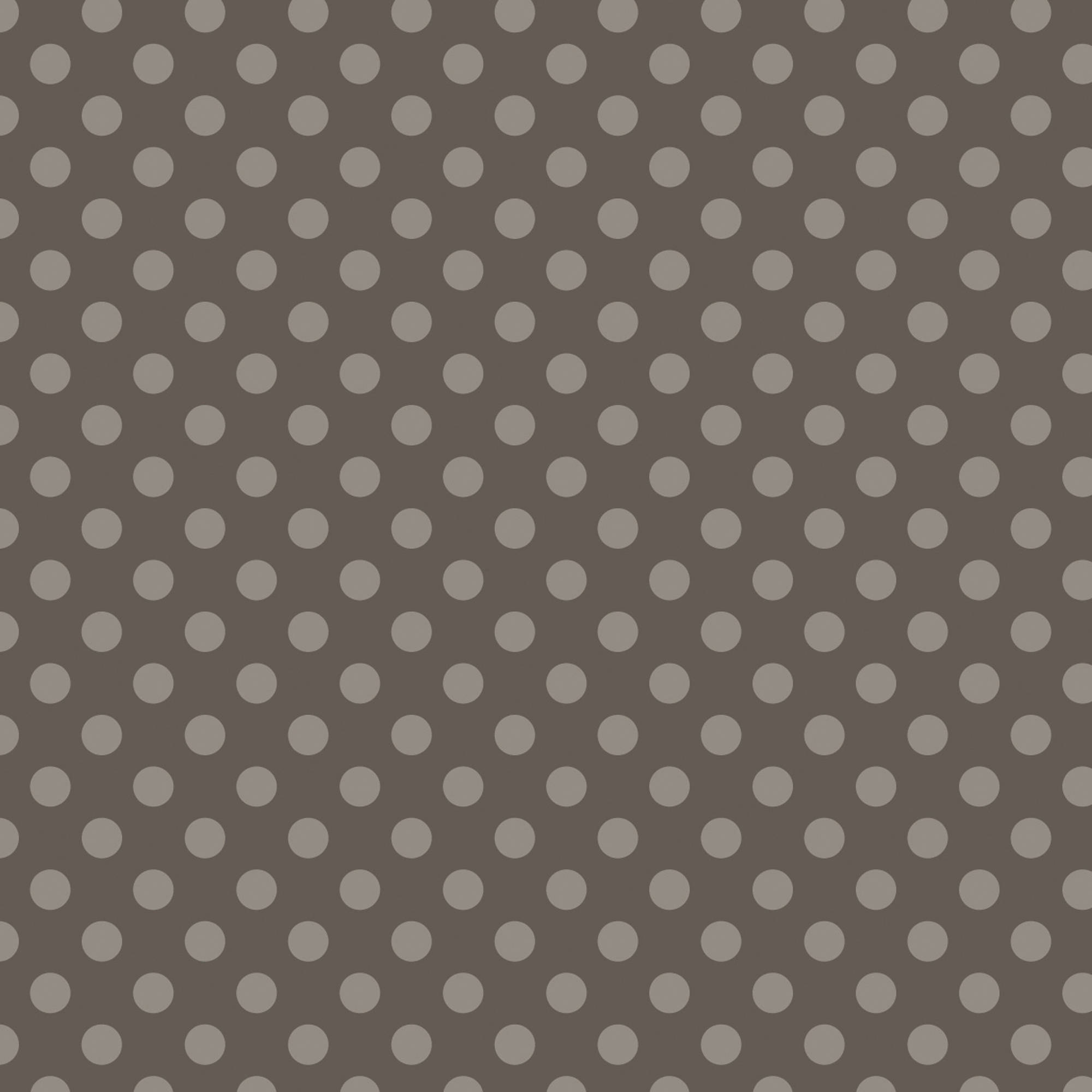 100% Cotton Fabric For Quilting And Crafting By Emma And Mila From The Hot Coco Collection: Tonal Dot Grey