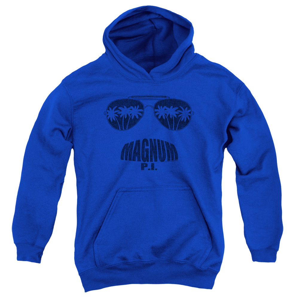 Magnum PI Face It Big Boys Pullover Hoodie