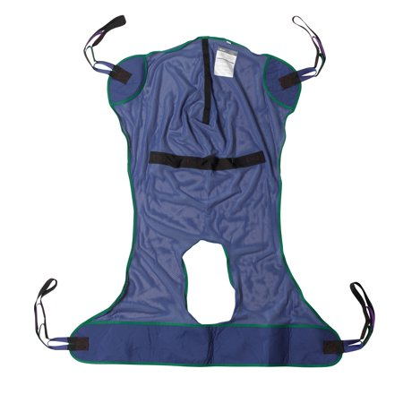 Jasmine Patient Lift (Drive Medical Full Body Patient Lift Sling, Mesh with Commode Cutout,)