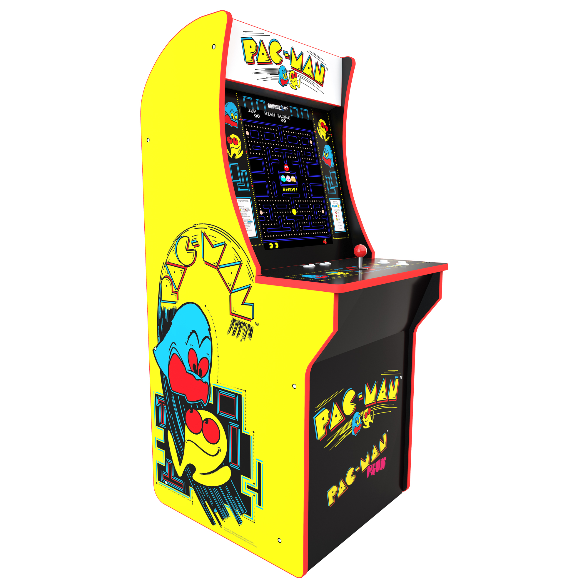 Groovy Pacman Arcade Machine Arcade1Up 4Ft Download Free Architecture Designs Crovemadebymaigaardcom