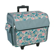 Best Premier Rolling Machines - Everything Mary Rolling Sewing Machine Tote, Floral Review