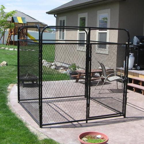 K9 Kennel Basic Expanded Metal Yard Kennel