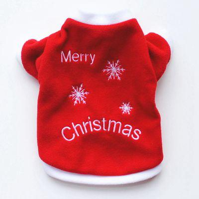 KABOER Pet Dog Warm Jumper Sweater Xmas Clothing Puppy Cat Knit Costume Coat Christmas ()