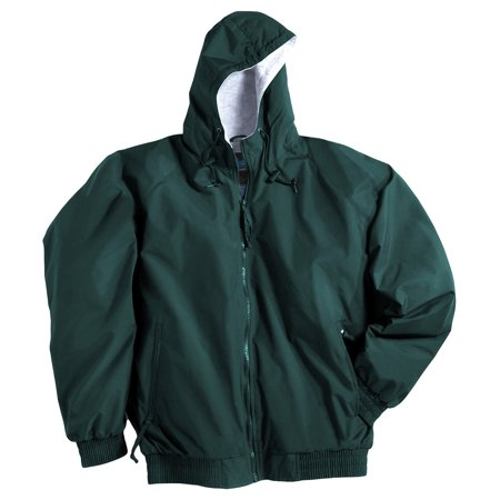 Dickies Brown Jacket - Tri-Mountain Men's Big And Tall Waterproof Shell Zipper Jacket