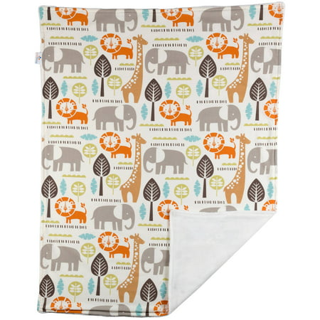 Poppi Living Safari Reversible Stroller Blanket