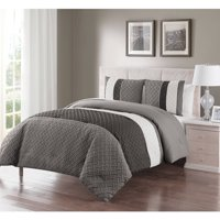 2839d06cf0a Product Image VCNY Home Edgemont Embossed Stripe 2 3 Piece Bedding  Comforter Set with Shams