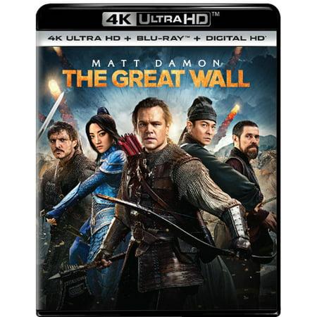The Great Wall (4K Ultra HD + Blu-ray + Digital Copy)