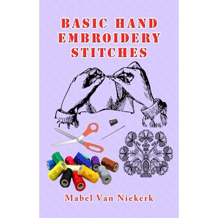 Basic Hand Embroidery Stitches - eBook