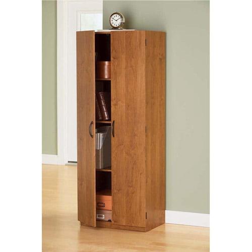 Mainstays Storage Cabinet, Alder - Walmart.com
