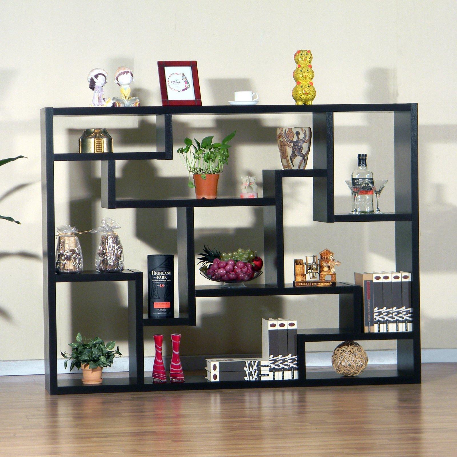 Bookshelf Room Divider furniture of america mandy bookcase/ room divider - walmart