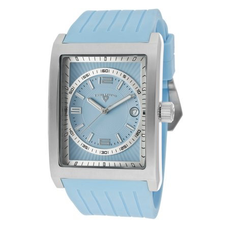 Swiss Legend 40012-012 Limousine Light Blue Silicone And Dial Stainless Steel Watch