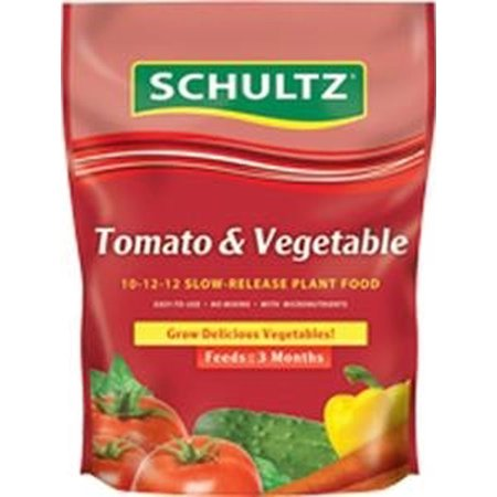 Schultz-Tomato Vegetable Slow Release Plant Food 10-12-12 3.5lb (Case of 6