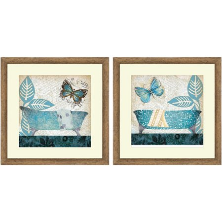 teal bath wall art. Black Bedroom Furniture Sets. Home Design Ideas