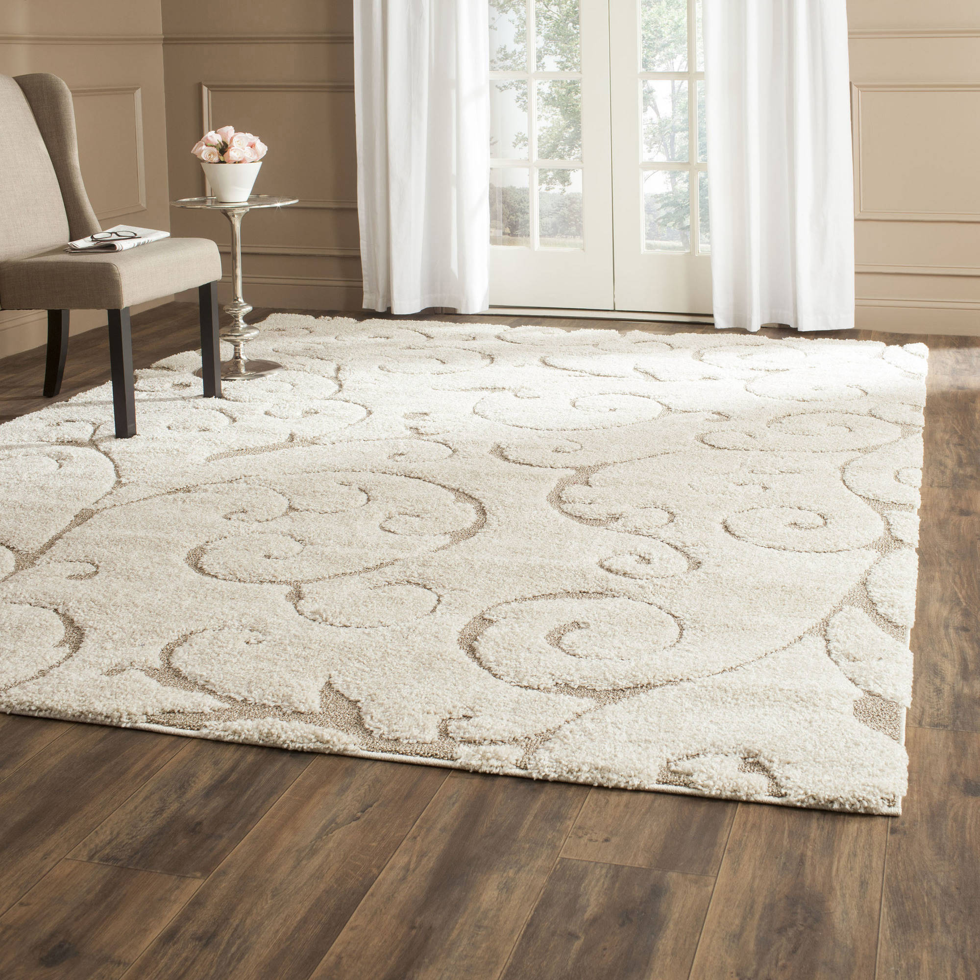 Safavieh Florida Shag Iron Gate Rectangle Pile Area Rug
