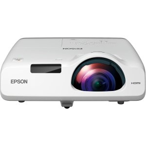 Epson PowerLite 530 Short Throw LCD Projector - 4:3 - White - 1024 x 768 - Front, Rear, Ceiling - 720p - 5000 Hour Normal Mode