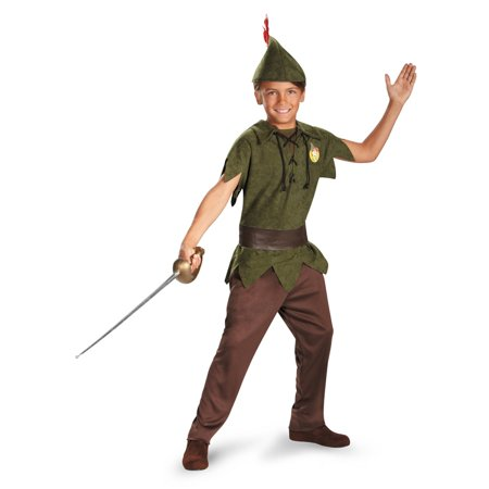 Peter Pan Kid Costume (Disney Peter Pan Boys Standard Kids)
