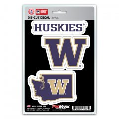 Washington Set - Washington Huskies Team Decal Set