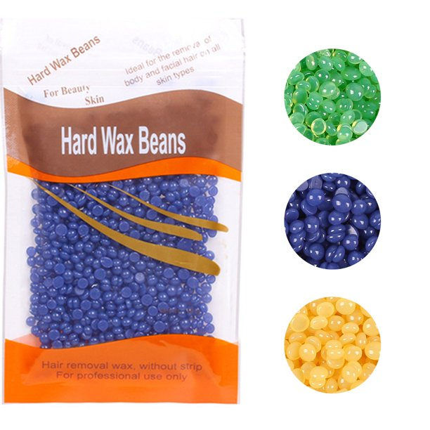50g Hard Wax Beads Face Body Hair Depilatory Wax Beans For Hair Removal Walmart Com Walmart Com