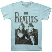 Beatles Men's  The Beatles Vintage T-shirt Blue