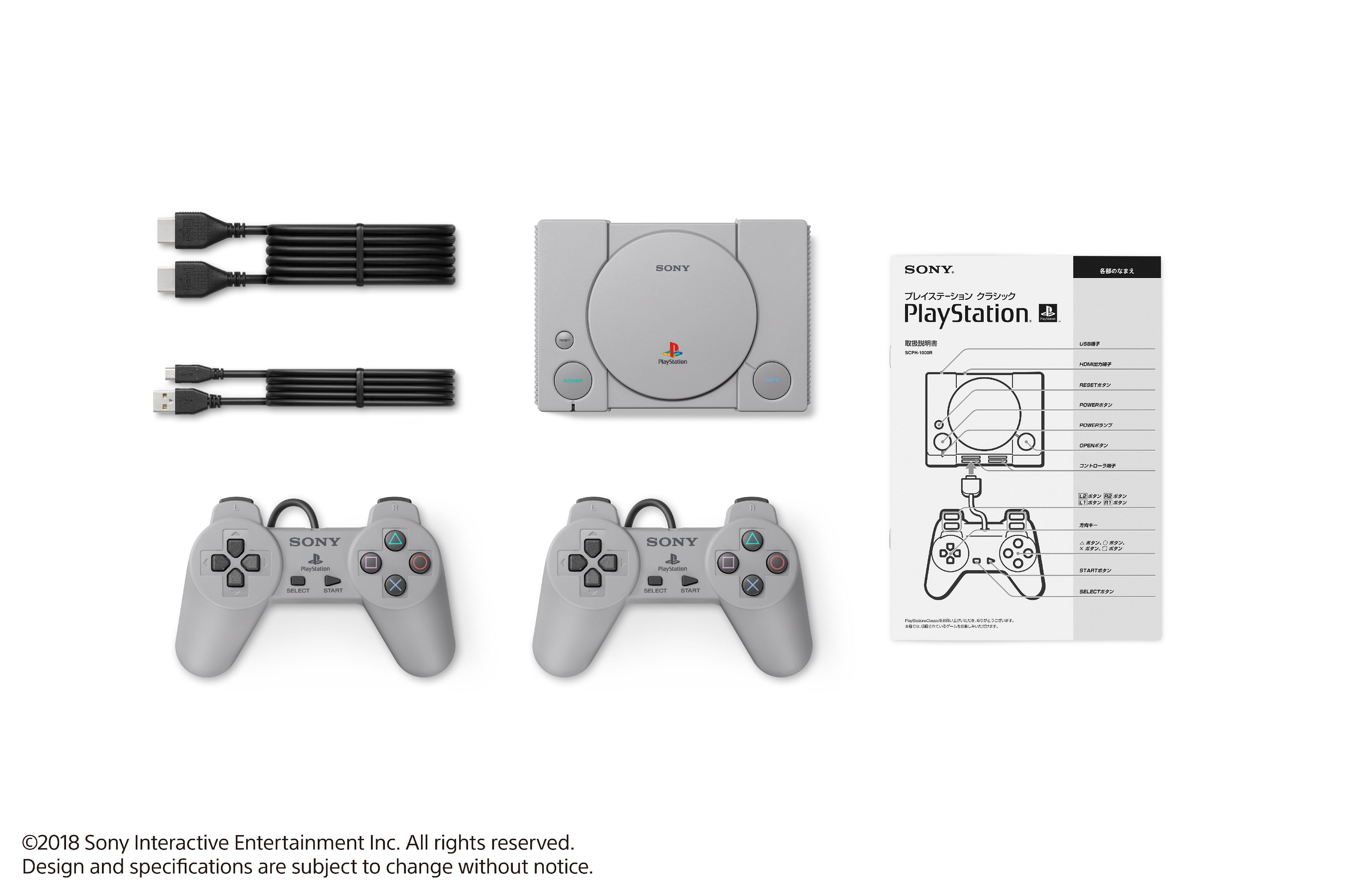 Sony PlayStation Classic Console, Gray, 3003868 - Walmart com