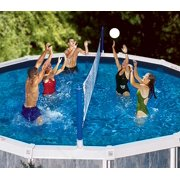 Cross-Pool Above Ground Pool Volleyball Game