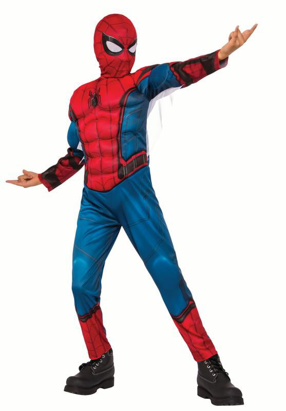 Rubies Child Spiderman Homecoming Muscle Chest Costume by Rubies