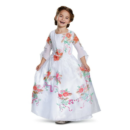 Beauty and the Beast Girls' Belle Deluxe Celebration Dress Costume](Celebration Costumes)