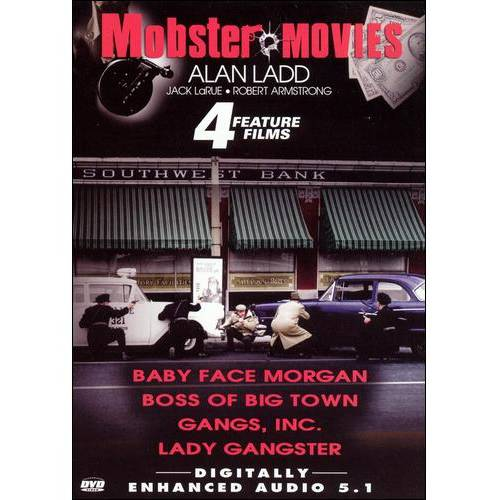 Mobster Movies: 4 Feature Films - Baby Face Morgan / Boss Of Big Town / Gangs, Inc. / Lady Gangster