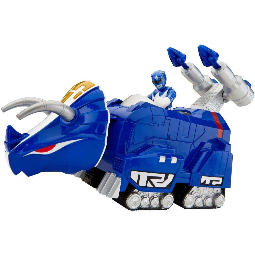 IMaginext Power Rangers Blue Ranger and Triceratops by FISHER PRICE