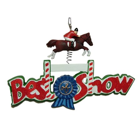 Midwest Equestrian Best of Show English Ridding Equipment Christmas Tree Ornament By Midwest-CBK Ship from US