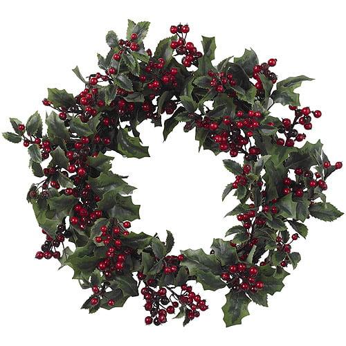Holly Berry Wreath