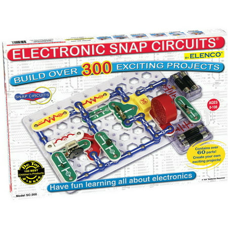 Electronic Snap Circuits SC-300 (Snap Electronics Kit)